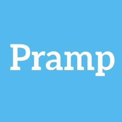 Photo of a review of Pramp as an interview prep tool
