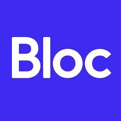 Photo of a review of Bloc as a design and web development bootcamp