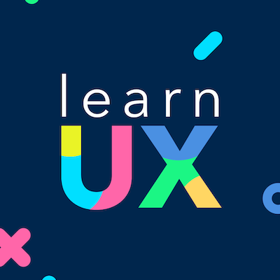 Photo of a review of Learn UX as a product design online resource