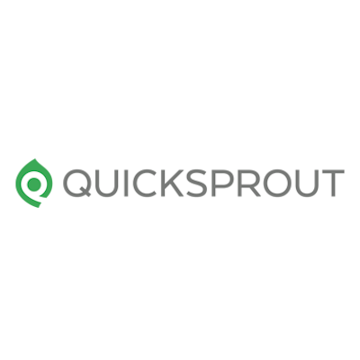 Photo of a review of QuickSprout as a digital marketing online resource