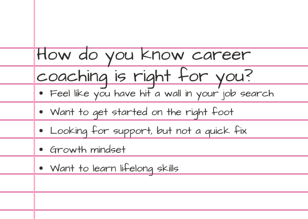 Photo of career coaching