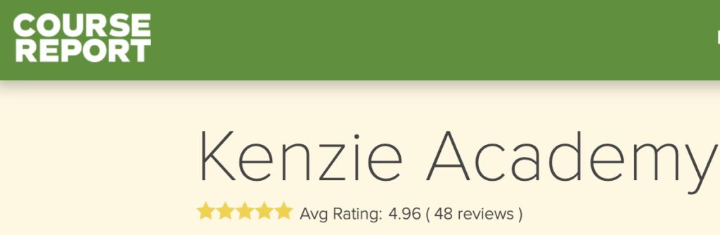 Photo of Kenzie Academy review