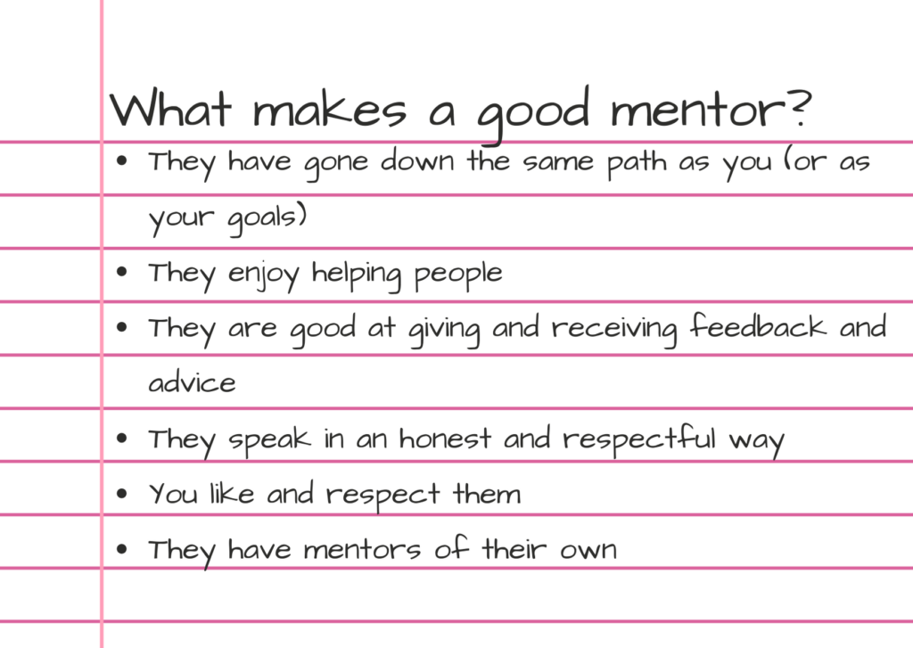 Photo of the importance of mentorship