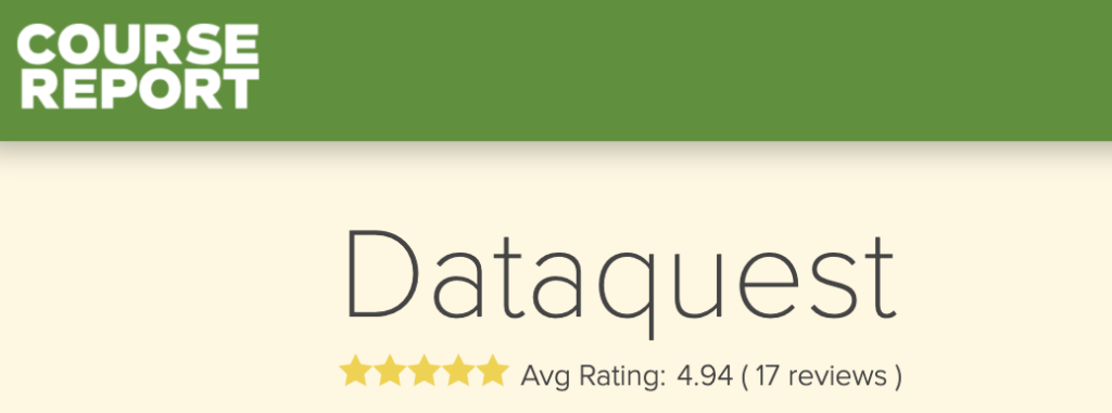Photo of Dataquest review