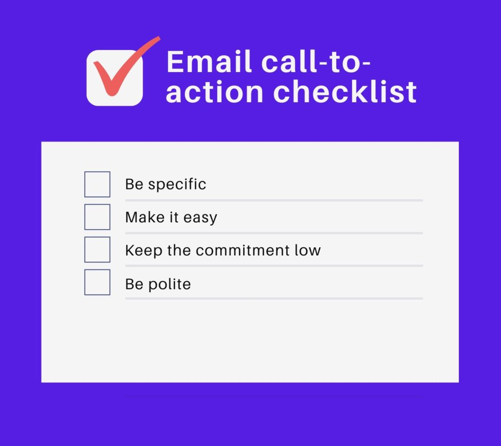 Photo of email call to action examples