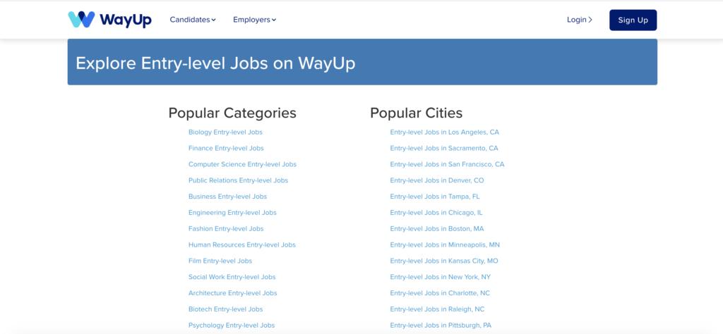 Photo of WayUp review