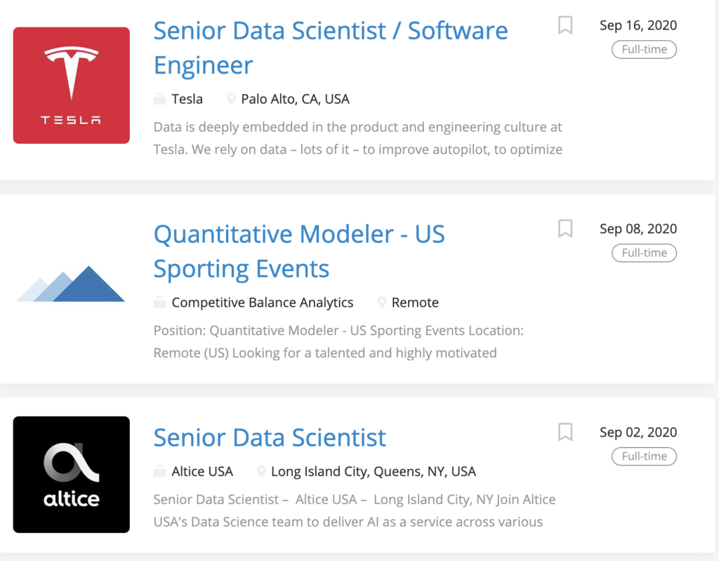 Photo of best job boards for data science