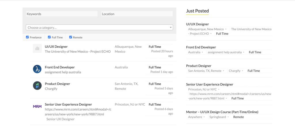 Photo of best job boards for product designers