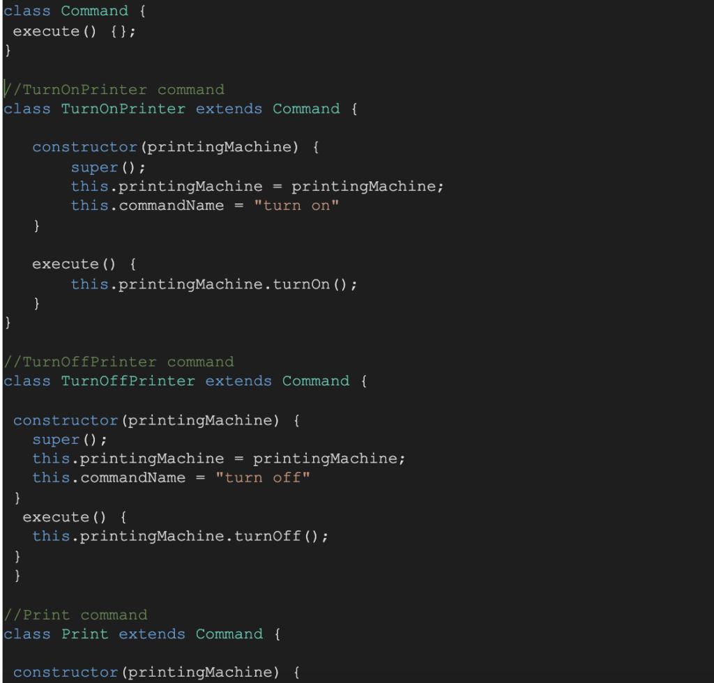 Photo of JavaScript design patterns - Command