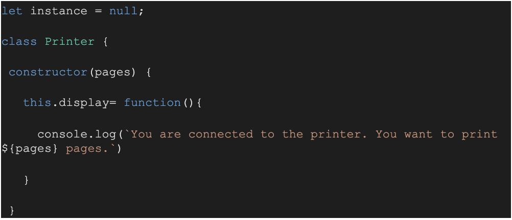Photo of JavaScript design patterns - Singleton