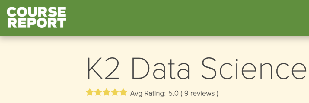 Photo of K2 Data Science review