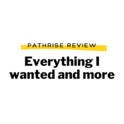 Photo of Pathrise review from fellow