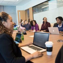 Photo of women in tech