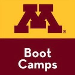 the logo of University of Minnesota bootcamps