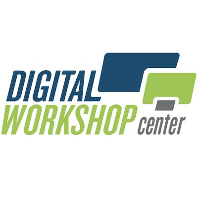 a photo of the Digital Workshop Center logo