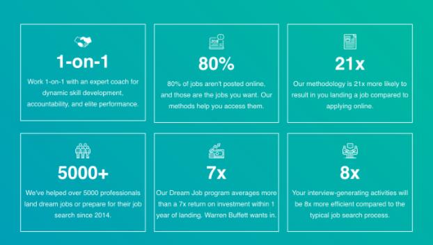 a photo of the job sauce success stats